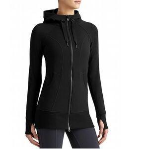 Athleta CYA strength full zip up hoodie sweatshirt